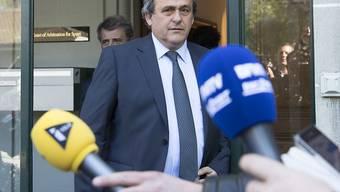 Michel Platini bleibt gesperrt
