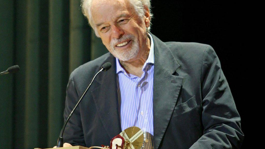 Der chilenische Regisseur und Schauspieler Alejandro Jodorowsky erhält am diesjährigen Filmfestival in Locarno den Ehrenleoparden (Archiv)