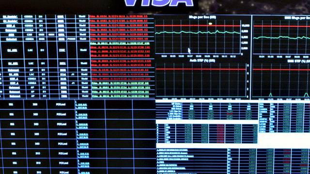 Visas Transaktions-Zentrum in den USA
