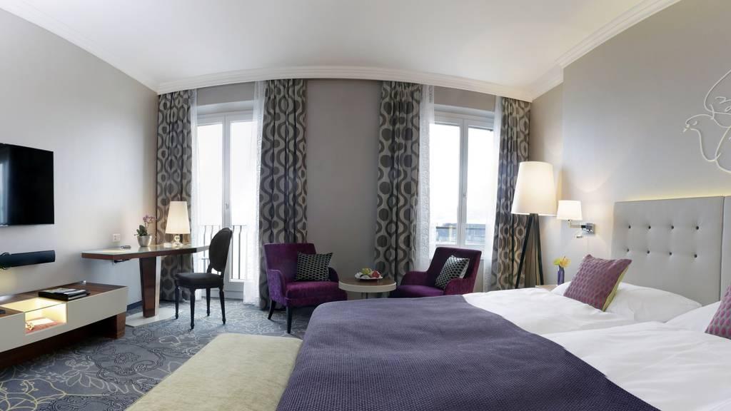 Weniger Hotelübernachtungen in der Schweiz