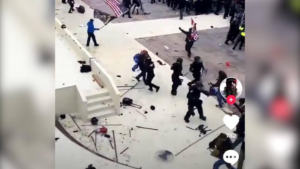 Sturm auf Kapitol in Washington: Vier Tote und mehrere Verletzte