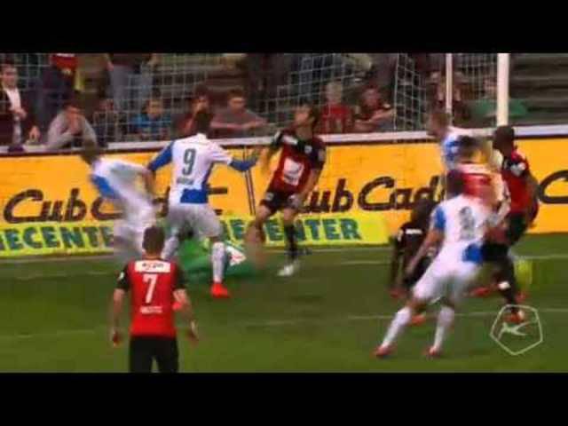 Der Siegtreffer von Dabbur zum 1:0-Sieg von GC in Aarau