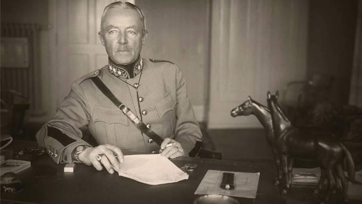Soll einen Bezug zu Luterbach gehabt haben: General Henri Guisan (1874–1960).