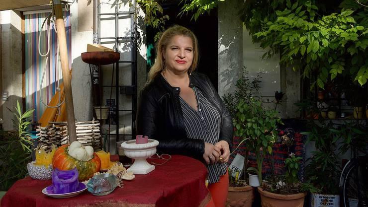 Sonja Guzzanti kocht seit zehn Jahren am Landhausquai für ihre Gäste von «Mediterranen Leckereien.»