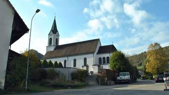 Rund um die Kirche St. Martin wird am Chilbisonntag gefeiert.