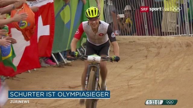 Nino Schurter holt Olympia-Gold