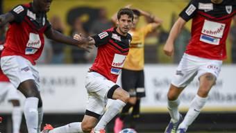 Der FC Aarau muss gegen La Chaux-de-Fonds ran.