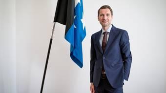 Der Aargauer Staatsschreiber Peter Grünefelder hat heute seinen Rücktritt bekanntgegeben.