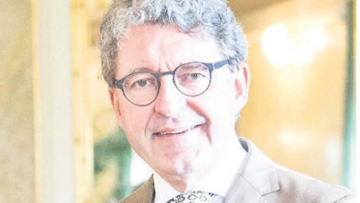 Heinz Brand ist Präsident der kantonalen SVP; im Jahr 2021 soll er Nationalratspräsident werden. Dafür muss er seinen Sitz aber erst verteidigen.