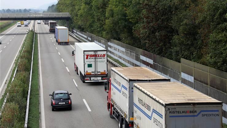 Sechsspurausbau der A1: Auch der Solothurner Regierungsrat findet eine Tunnellösung im Bereich Niederbuchsiten prüfenswert.