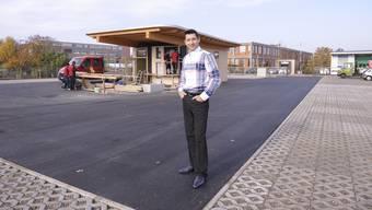 Anfang Dezember wird der neue Platz an der Friedrich-Miescher-Strasse eröffnet.