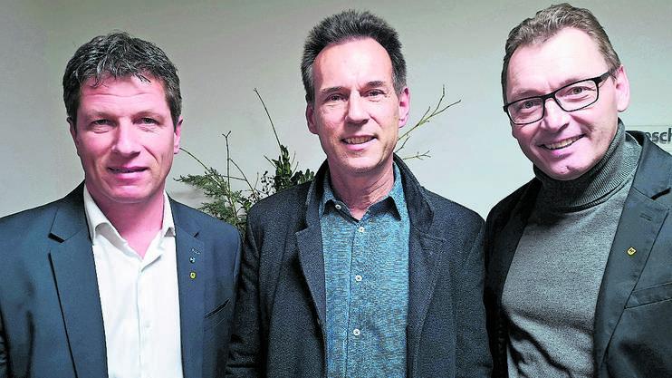 Dani Wehrli, SVP-Grossrat (links)