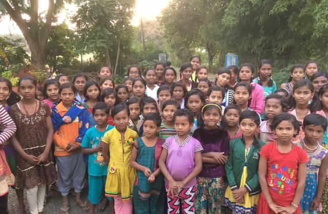 Schülerinnen im Internat der School Sisters of St. Frances (Franziskanerinnen) in Bicchia in Nordindien