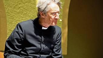 Der Münchner Kabarettist und Lyriker Holger Paetz predigte zum Thema Corona.