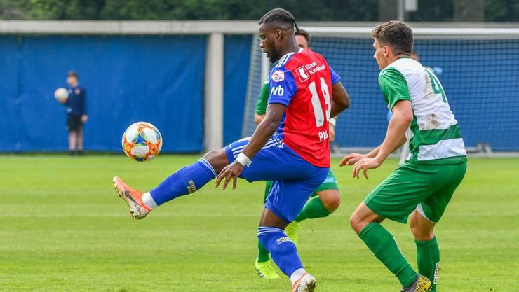 Afimico Pululu war mit drei Toren der Mann des Spiels.