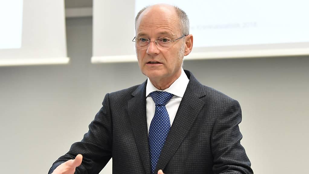 Die parlamentarische Gerichtskommission empfiehlt dem Parlament Stefan Blättler zur Wahl als neuen Bundesanwalt. (Archivbild)