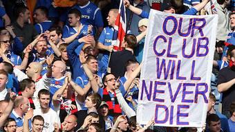 Fans bleiben den Rangers treu.