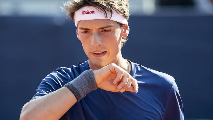 Schöner Erfolg in den Tiroler Bergen: Davis-Cup-Spieler Marc-Andrea Hüsler