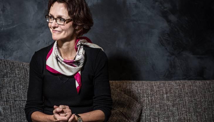 Monika Rühl am Economiesuisse-Hauptsitz in Zürich: «Staatlich finanzierte Gratis-Kitas sind kein Thema.»