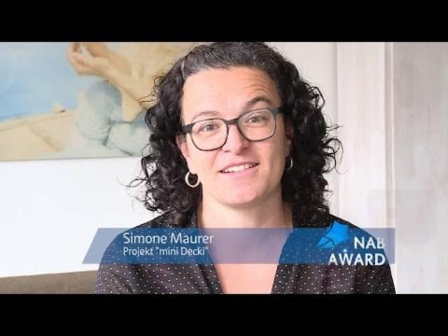 NAB-AWARD 2015 - Simone Maurer (Kandidatin)