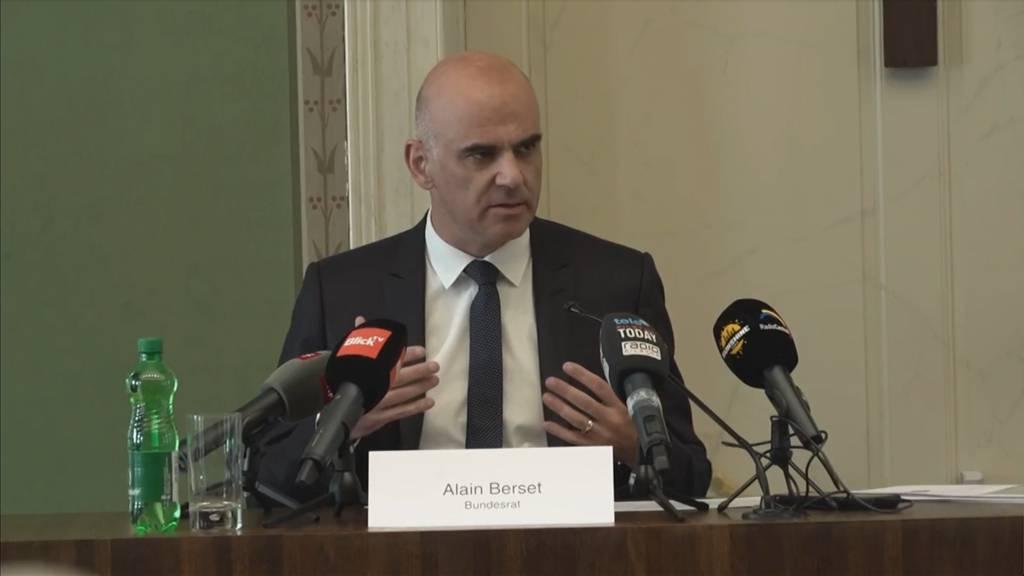 Alain Berset zu steigenden Corona-Fallzahlen: «Wir wissen, was wir machen können»