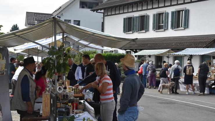 Zum achten Mal findet der Trüffelmarkt statt.