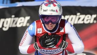 «Manchmal muss einfach alles raus»: Michelle Gisin belegt in der Abfahrt von Garmisch den 24. Platz.
