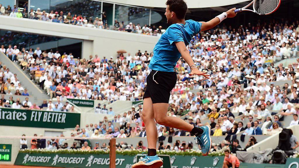 Thiem verlor zum zweiten Mal in Folge den French-Open-Final gegen Nadal