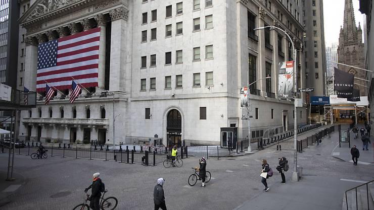 An der Wall Street hat der Dow Jones kräftig zugelegt.