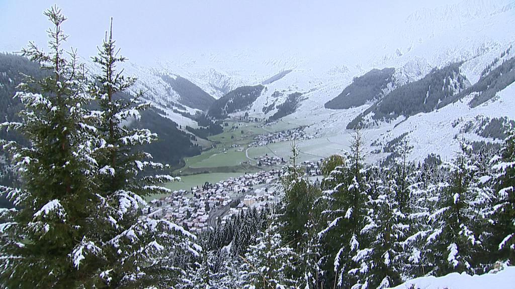 Schneefallgrenze erstmals unter 2000 Metern