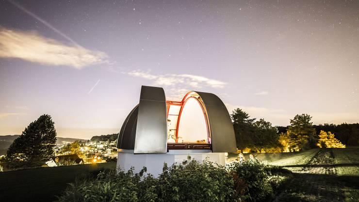Den besten Blick in die Sterne gibt es in Uitikon - andernorts hat es zu viel Lichtverschmutzung