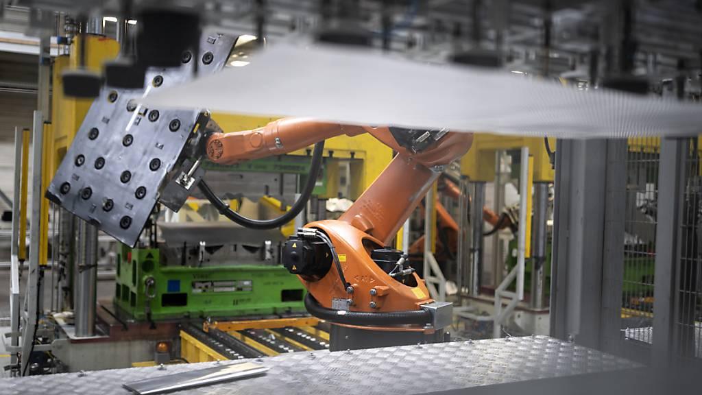 Schweiz zählt überdurchschnittlich viele Industrie-Roboter