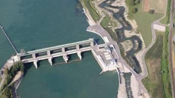Am Wehr des Rheinkraftwerks Dogern wurde die Leiche des Säuglings gefunden.