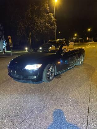 Ein 18-jähriger Neulenker beschleunigte sein Auto so massiv, dass er die Beherrschung über sein Fahrzeug verlor.