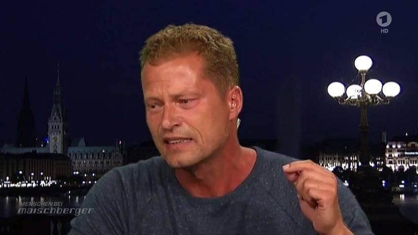 Til Schweiger am Dienstagabend in der ARD -Sendung «Menschen bei Maischberger».
