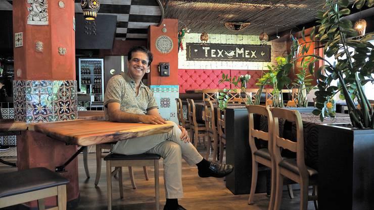 Raj Patoli im Zwyssighof mit Tex Mex