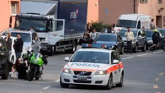 Ein Gasleck verursachte im Tessin lange Staus. Die Kantonsstrasse war für mehrere Stunden gesperrt.