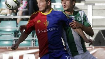 Auf der Sonnenseite: Alex Frei (l.) erzielt beide Treffer an der internationalen Saisonpremiere der Basler.