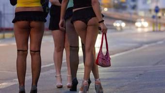 Prostituierte auf dem Strassenstrich (Archiv)