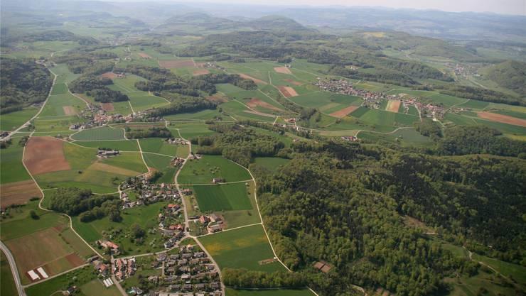 In Zukunft die Gemeinde Bözberg. zvg