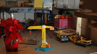 Bei der Spielzeug-Tausch-Aktion gilt: Zwei Spielzeuge bringen, eins nehmen.