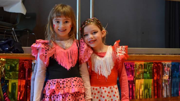 Flamenco-Kostüme waren beliebt.