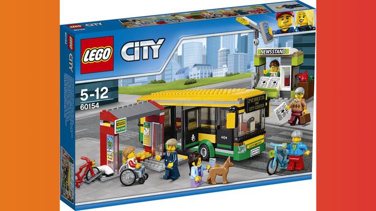 Wunsch-Nr. 16, Mateus, 8 Jahre, LEGO City Busbahnhof (60154), CHF 40, zB bei Galaxus