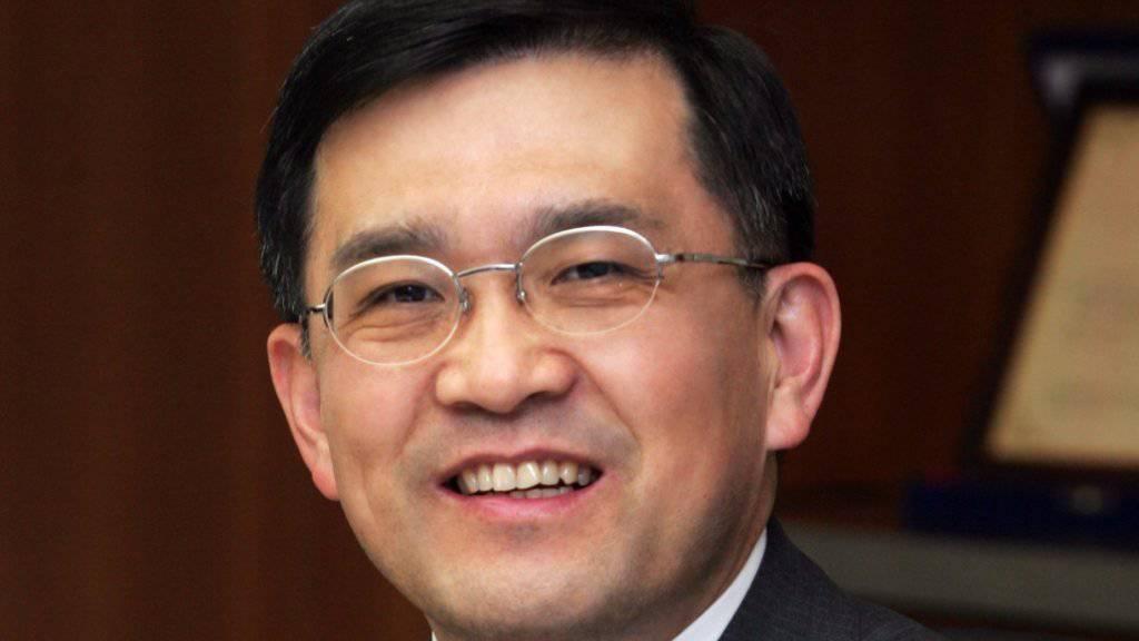 Vize-Verwaltungsratspräsident und Chef von Samsung, Kwon Oh Hyun, erklärte am Freitag seinen Rücktritt auf März 2018. (Archivbild)