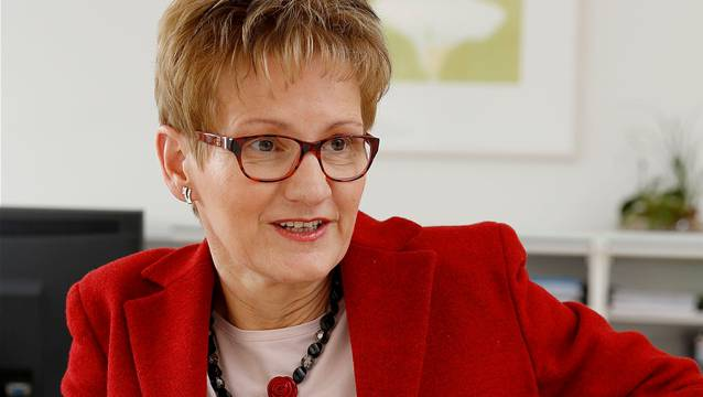 Die öffentlichen Debatten um die Baselbieter Regierungsrätin Sabine Pegoraro (im Bild) sind der FDP-Präsidentin Christine Frey ein Dorn im Auge.