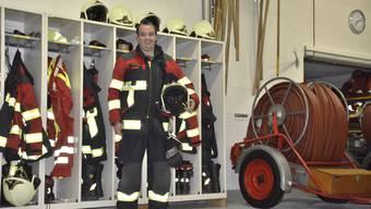 Seine letzten Einsätze sind gezählt: Ende Jahr legt Roland Keller seine Feuerwehruniform nach 32 Jahren ab.
