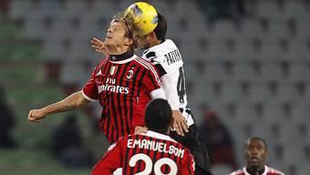 Milan behielt gegen Udinese die Oberhand.