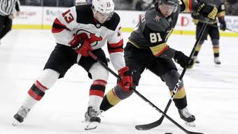 Nico Hischier eröffnete zum zweiten Mal in Folge das Skore für die New Jersey Devils