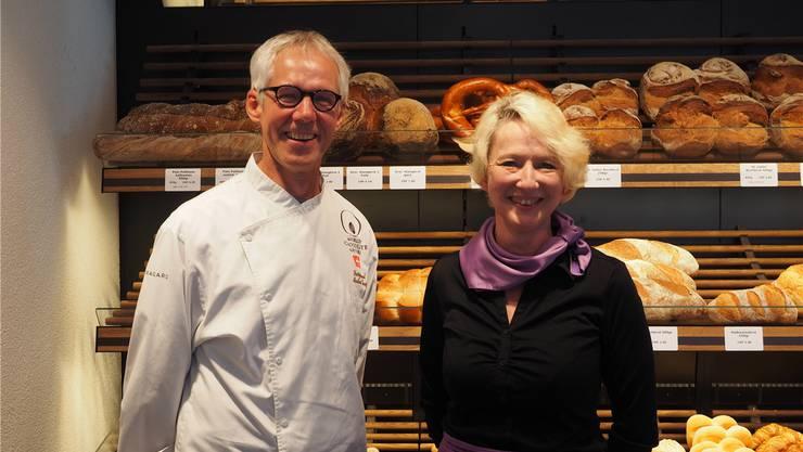 Sind zufrieden mit dem Start: Markus Kunz und Cristina Küsterling. Thomas Wehrli