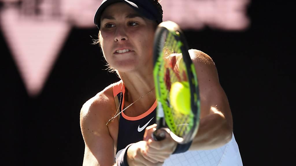 Belinda Bencic hat im Viertelfinal von Adelaide alles unter Kontrolle
